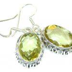 Sunset Secret!! Citrine Sterling Silver earrings
