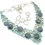 Big Dreamer!! Apatite Quartz Sterling Silver Necklace