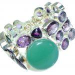 Pale Beauty! Purple Amethyst Sterling Silver Bracelet