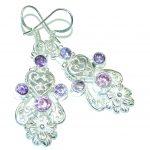Mesmerizing Ocean Blue Quartz Sterling Silver earrings
