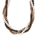 Sterling Silver 17 Inch Fresh Water Cultured Potato Pearl w/2in ext. Necklace