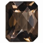 Loose Smoky Quartz Gemstone 7x5mm Oct Checkerboard AA Quality