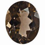 Loose Smoky Quartz Gemstone 7x5mm Oval AA Quality