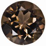 Loose Smoky Quartz Gemstone 5mm Round AA Quality