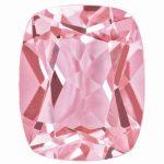 Loose Topaz Gemstone Baby Pink 8x6mm Cushion