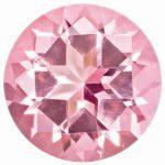 Loose Topaz Gemstone Baby Pink 2mm Round Natural Brilliance