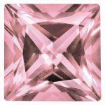 Loose Topaz Gemstone Baby Pink 6mm Princess