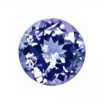 Loose Tanzanite Gemstone 2.25mm Round A Quality