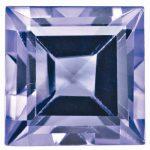 Loose Tanzanite Gemstone 3mm Square Step Cut A Quality